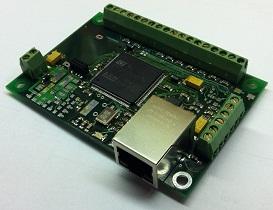 Мост Ethernet - 8x RS485