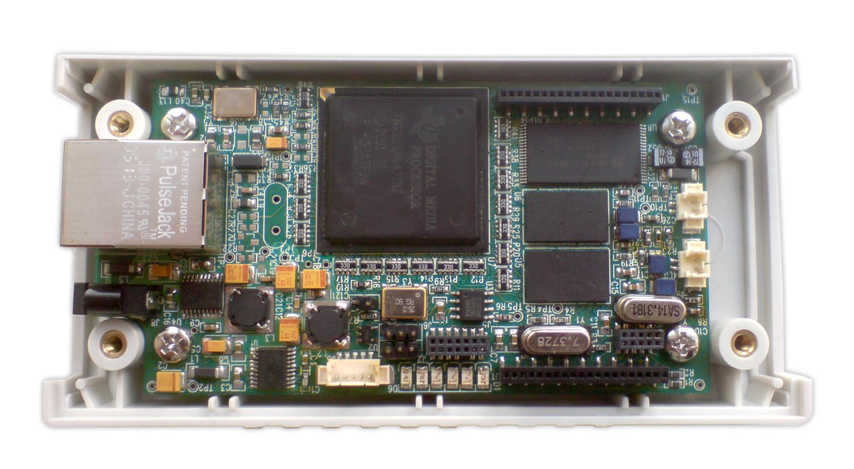 Контроллер на базе сигнального процессора TMS320DM642