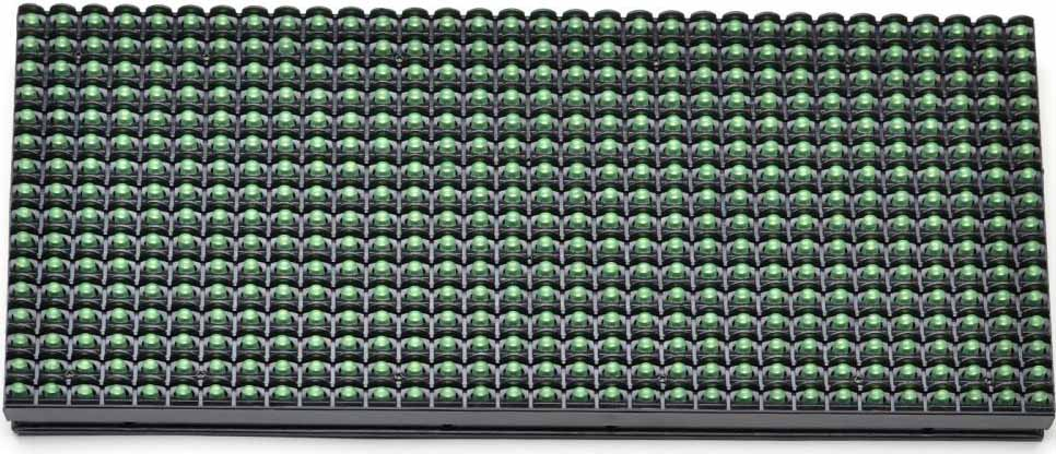 Модуль 10 мм зелёный