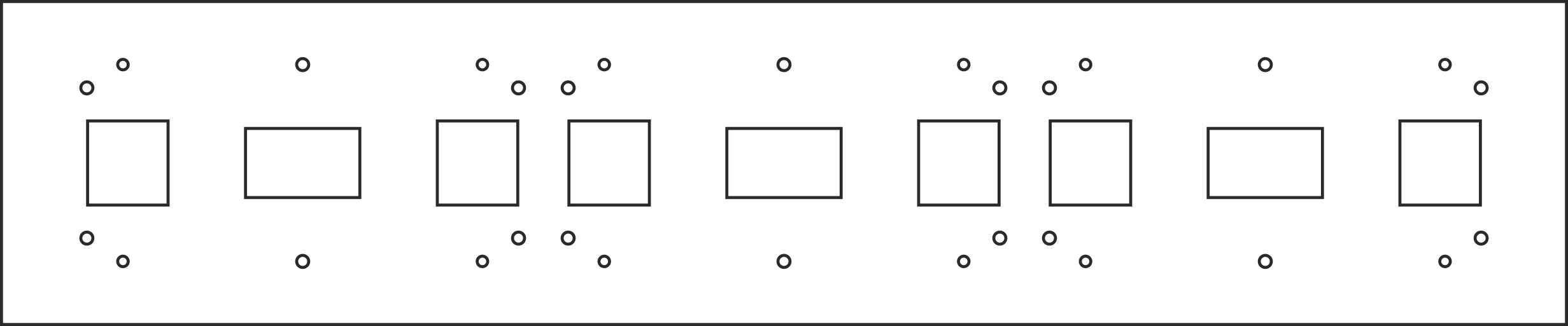Панель для табло бегущая строка