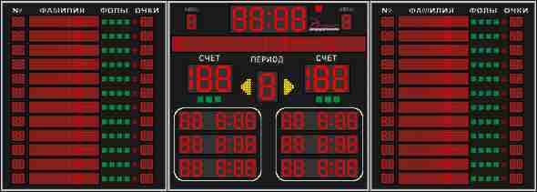 Табло для баскетбола №10
