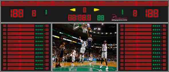 Табло для баскетбола №8