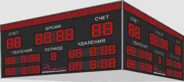 Табло для хоккея №6