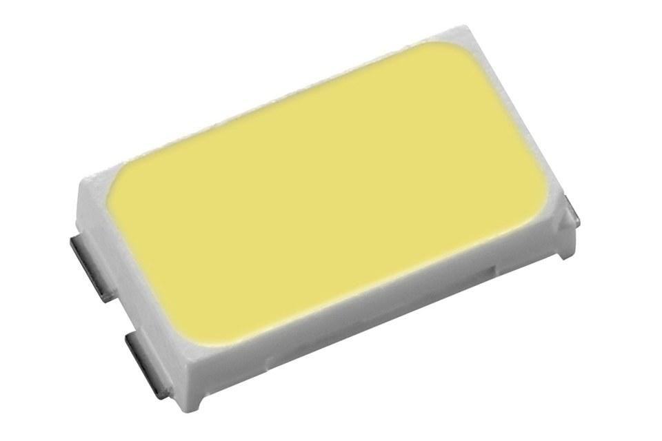 Everlight заявляет, что максимальная оптическая эффективность в отрасли составляет 205 лм/Вт для их новых светодиодов 5630KK6D
