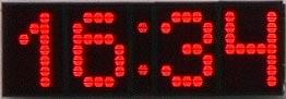 Электронные часы табло