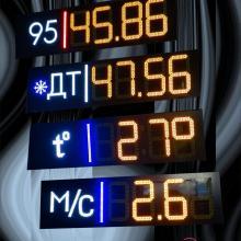 Комплект табло для АЗС с видом топлива 2