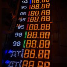 Комплект табло для АЗС с видом топлива