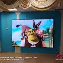 Полноцветный светодиодный экран шаг 3 мм
