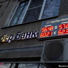 Табло курсов валюты 3