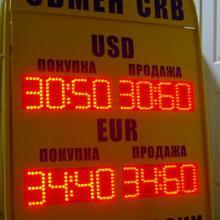 Табло валют - штендер