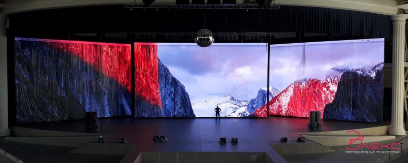 Светодиодный видео экран