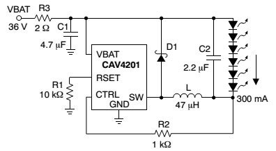 Импульсный стабилизатор тока