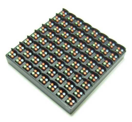 Матрица 8 х 8 пикселей