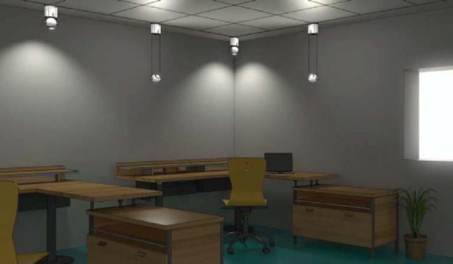 Интеллектуальное освещение офиса