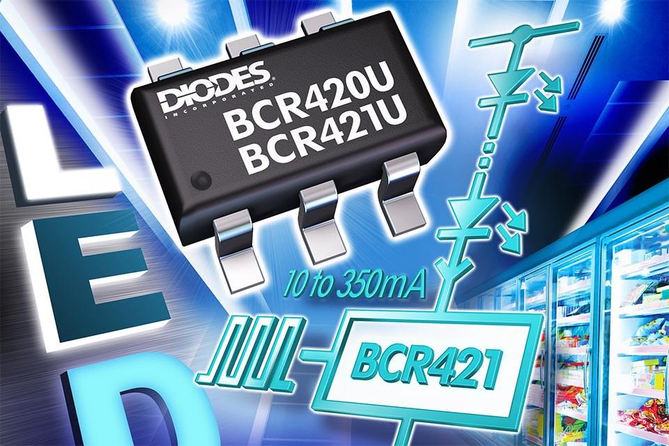 Регуляторы тока от Diodes Inc. для светодиодных лент