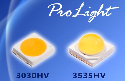 Высоковольтные светодиодные модули Prolight 3030HV и Prolight 3535HV