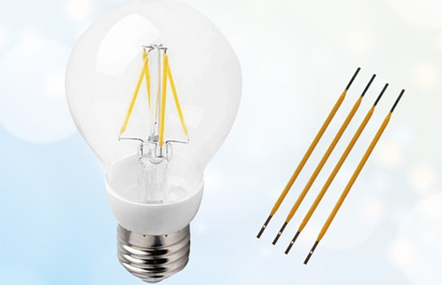 Светодиодные нити накала 0,8 Вт для имитации ламп накаливания от Edison Opto