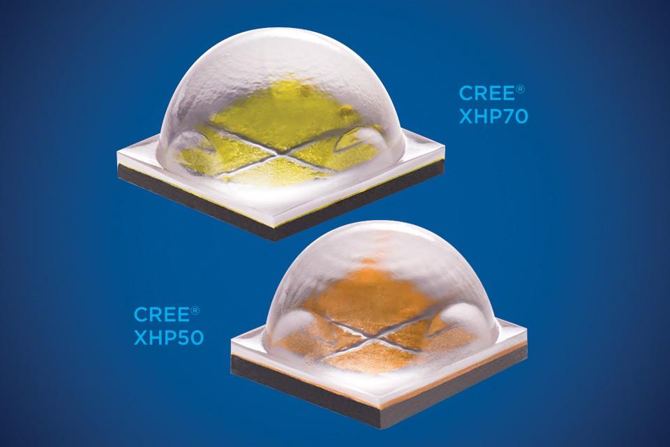 Светодиоды Cree семейства XHP50 и XHP70