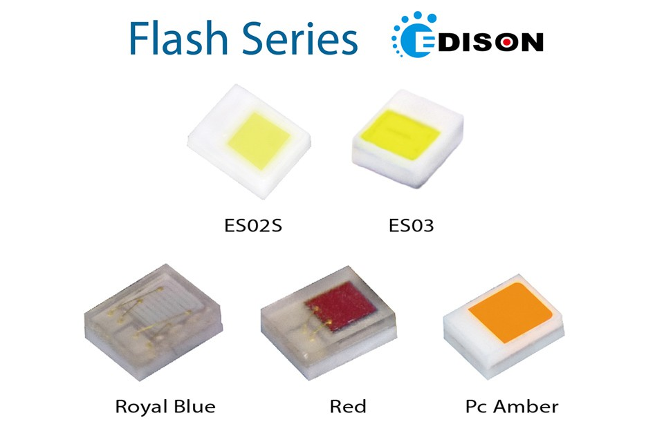 Светодиоды высокой яркости для фотовспышек от Edison Opto
