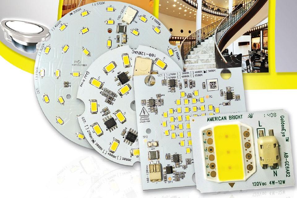 Светодиодные модули с питанием от сети переменного тока
