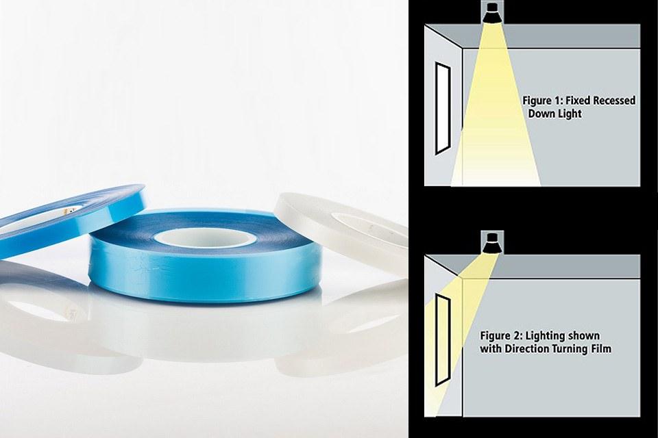 Новая лента Uniformity Luminit Edge-Lit и изменяющая направление