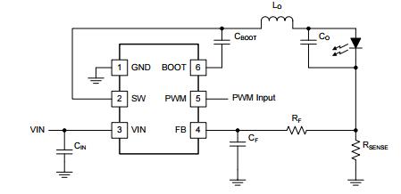 TPS54200 схема включения