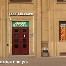 Табло курсов валют в окно