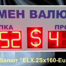 Табло курсов валюты евро доллар