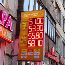 Консоль для обменника валют