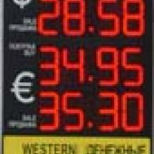 Валютное табло курсов